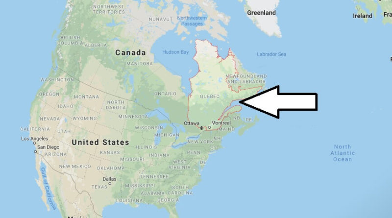 Where is Quebec Located? What Country is Quebec in? Quebec Map