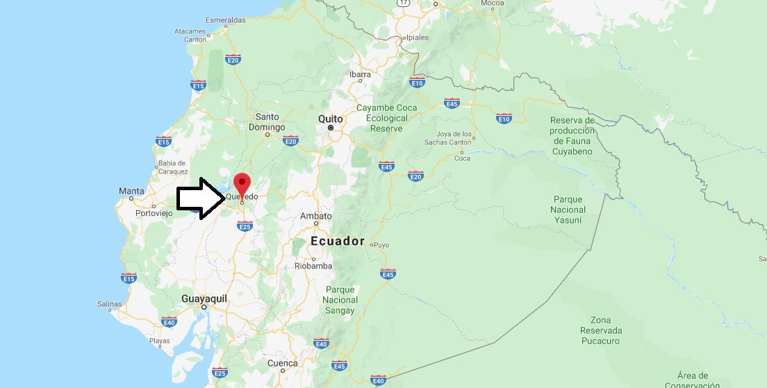 Where is Quevedo Located? What Country is Quevedo in? Quevedo Map