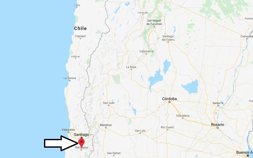 Where is Rancagua Located? What Country is Rancagua in? Rancagua Map