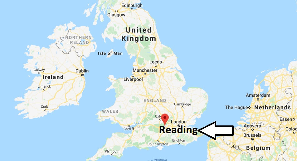 Where is Reading Located? What Country is Reading in? Reading Map