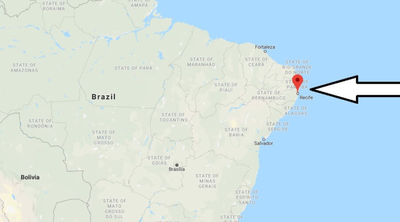 Where is Recife Located? What Country is Recife in? Recife Map