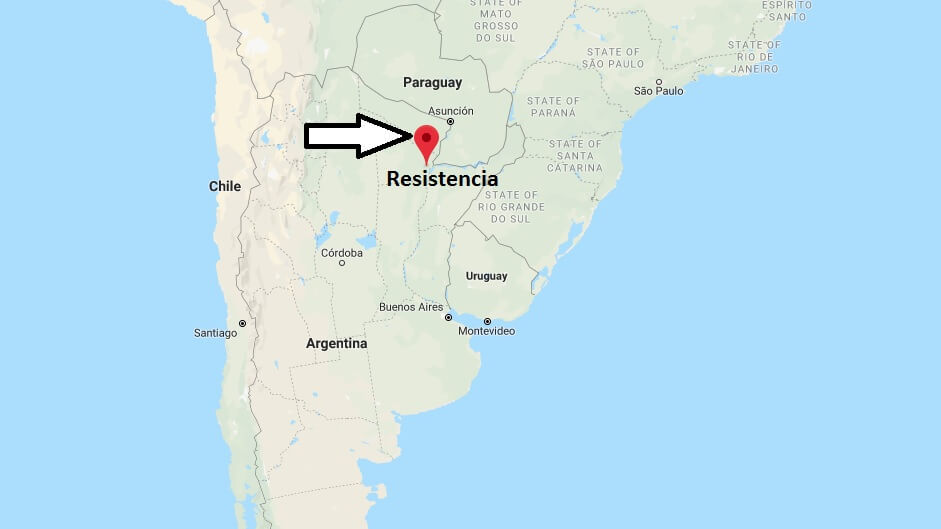 Where is Resistencia Located? What Country is Resistencia in? Resistencia Map
