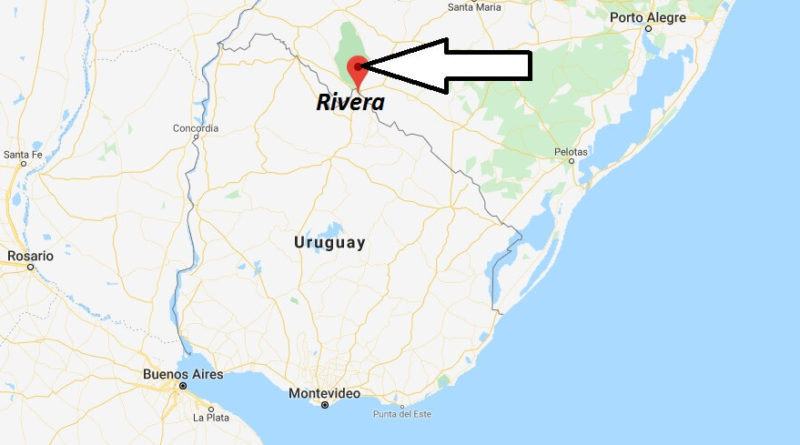Where is Rivera (Uruguay) Located? What Country is Rivera in? Rivera Map