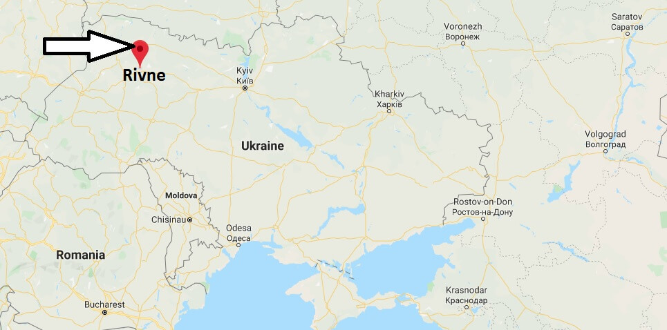 Where is Rivne Located? What Country is Rivne in? Rivne Map
