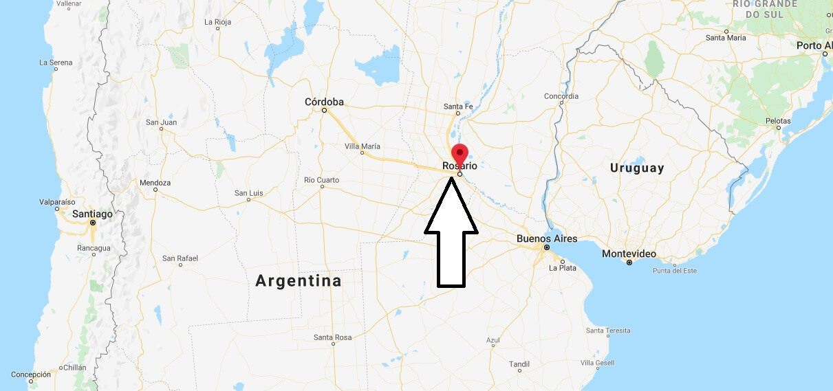 Where is Rosario Located? What Country is Rosario in? Rosario Map