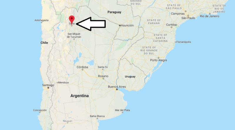 Where is Salta Located? What Country is Salta in? Salta Map