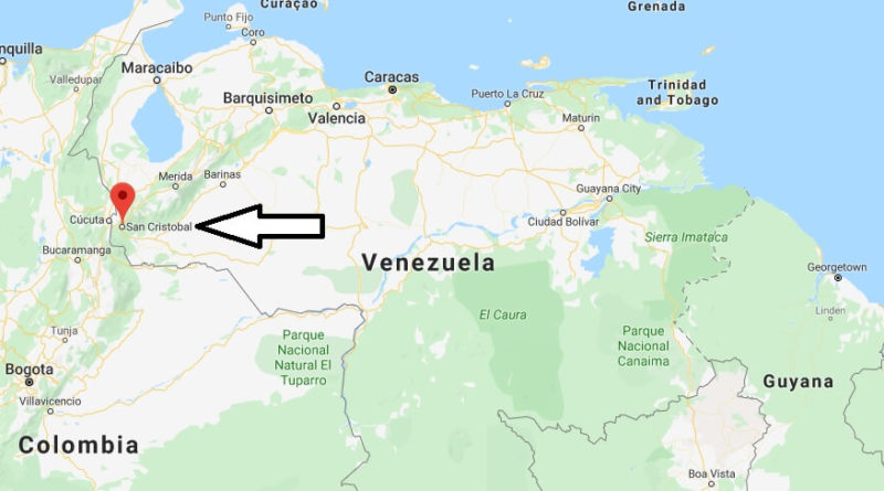Where is San Cristóbal Located? What Country is San Cristóbal in? San Cristóbal Map