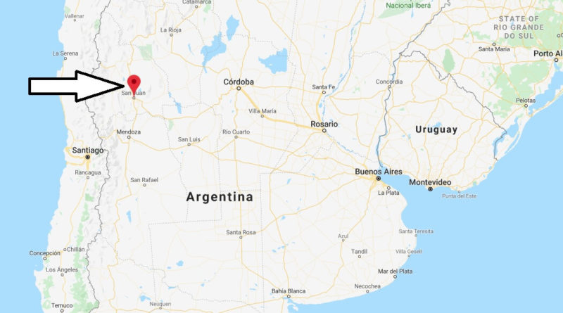 Where is San Juan (Argentina) Located? What Country is San Juan in? San Juan Map