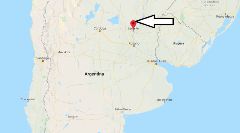 Where is Santa Fe (Argentina) Located? What Country is Santa Fe in? Santa Fe Map