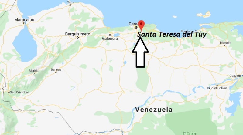 Where is Santa Teresa del Tuy Located? What Country is Santa Teresa del Tuy in? Santa Teresa del Tuy Map