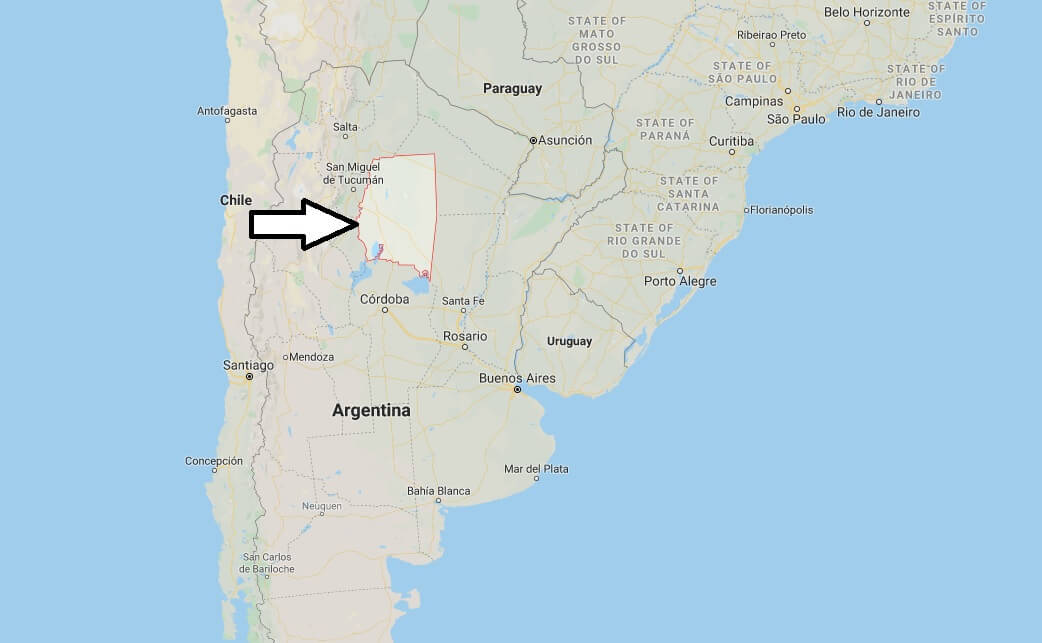 Where is Santiago del Estero Located? What Country is Santiago del Estero in? Santiago del Estero Map