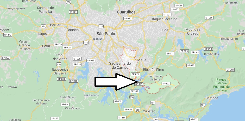Where is Santo André Located? What Country is Santo André in? Santo André Map