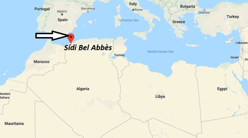 Where is Sidi Bel Abbès Located? What Country is Sidi Bel Abbès in? Sidi Bel Abbès Map