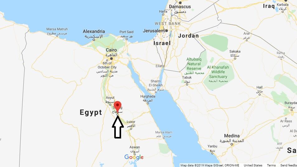 Where is Sohag Located? What Country is Sohag in? Sohag Map