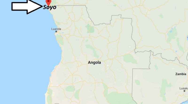 Where is Soyo Located? What Country is Soyo in? Soyo Map