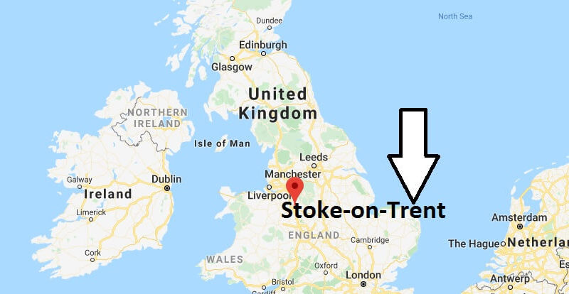 Where is Stoke-on-Trent Located? What Country is Stoke-on-Trent in? Stoke-on-Trent Map