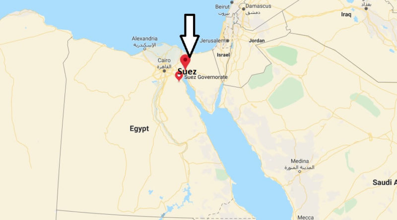 Where is Suez Located? What Country is Suez in? Suez Map