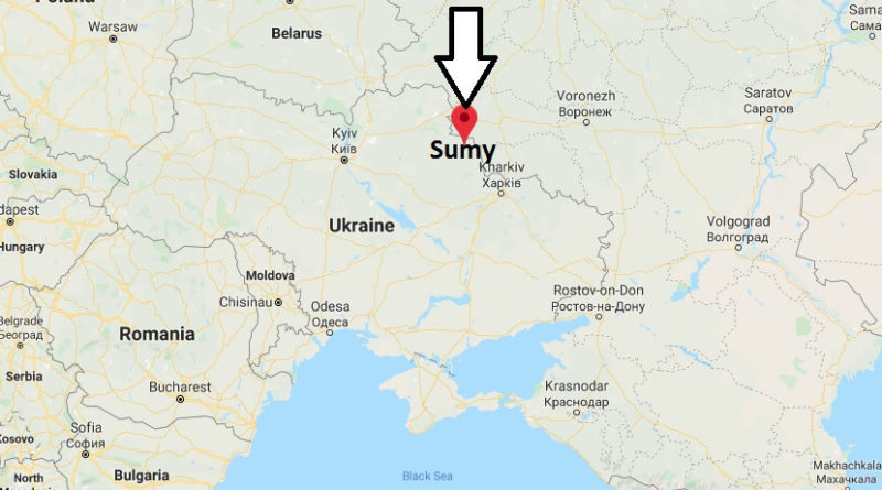 Where is Sumy Located? What Country is Sumy in? Sumy Map
