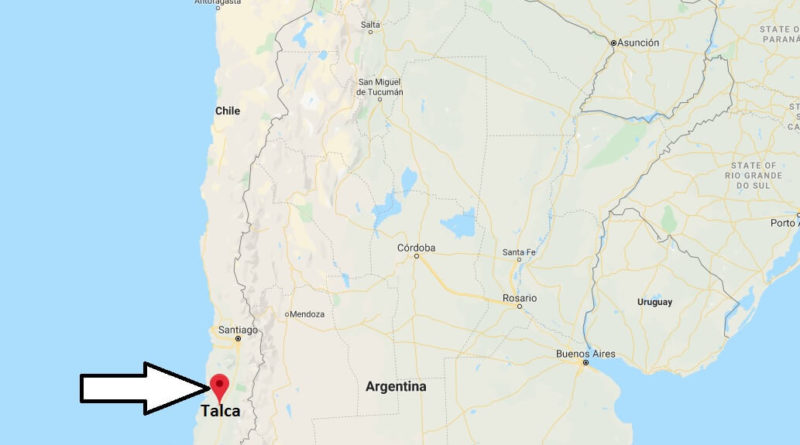 Where is Talca Located? What Country is Talca in? Talca Map