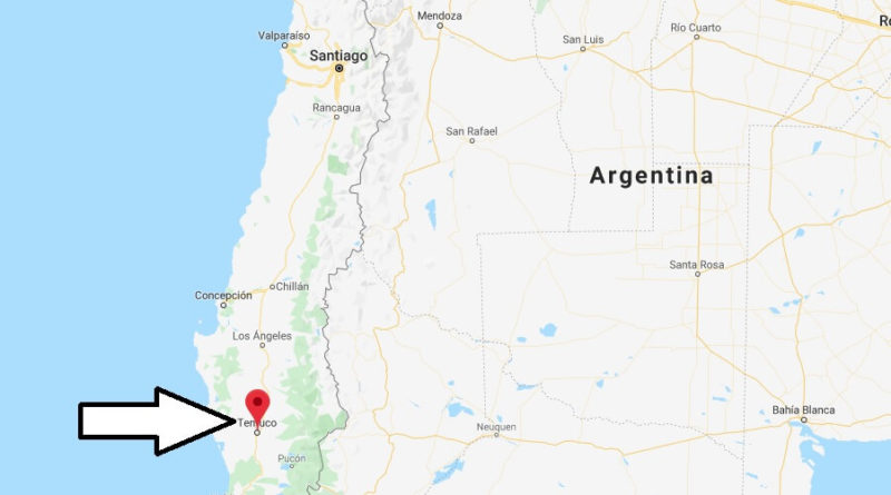 Where is Temuco Located? What Country is Temuco in? Temuco Map