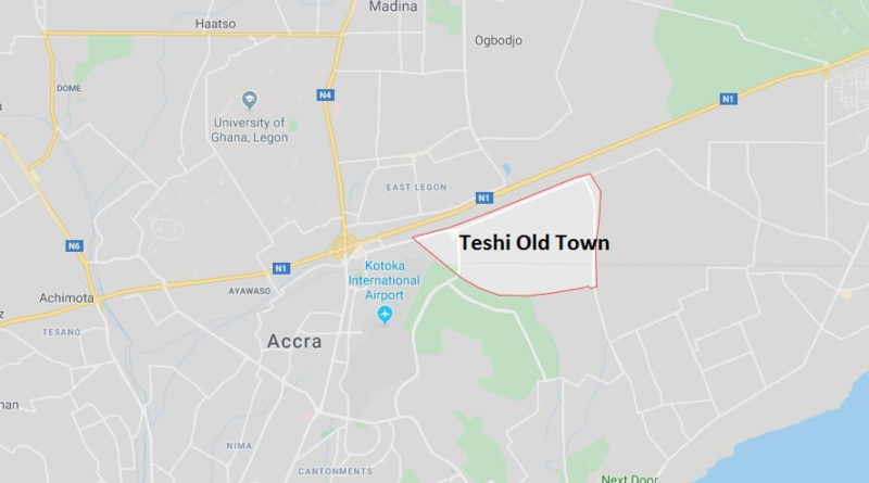 Where is Teshi Old Town Located? What Country is Teshi Old Town in? Teshi Old Town Map