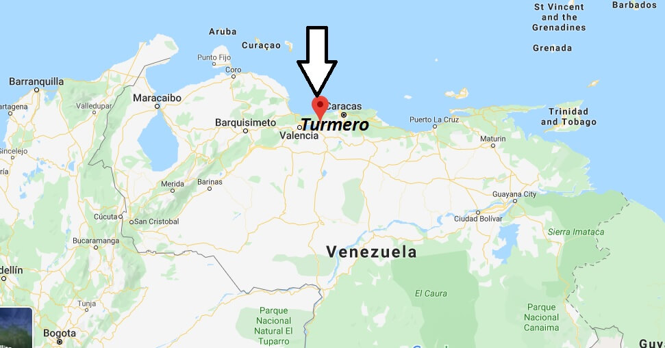Where is Turmero Located? What Country is Turmero in? Turmero Map