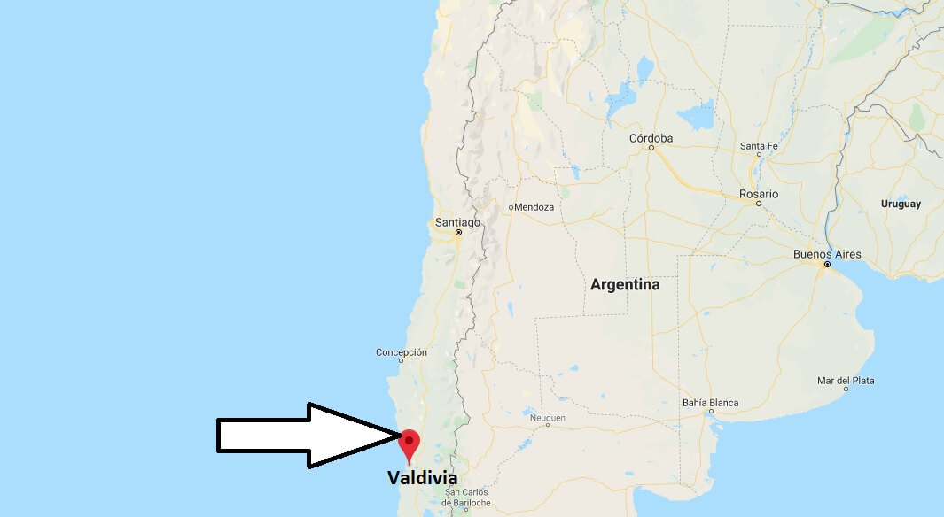 Where is Valdivia Located? What Country is Valdivia in? Valdivia Map