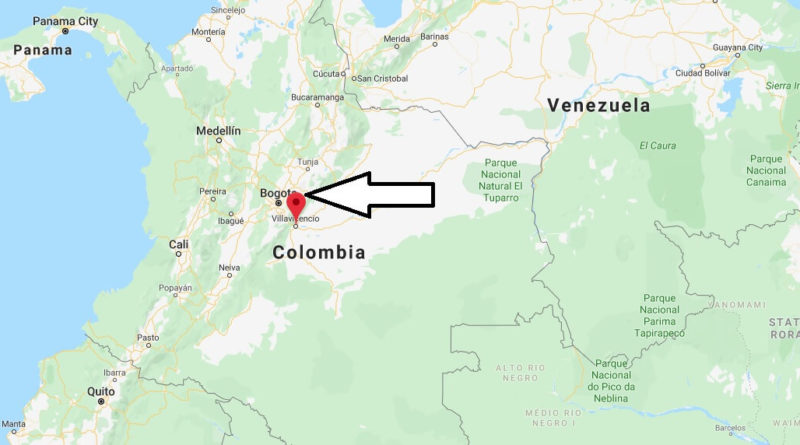 Where is Villavicencio Located? What Country is Villavicencio in? Villavicencio Map