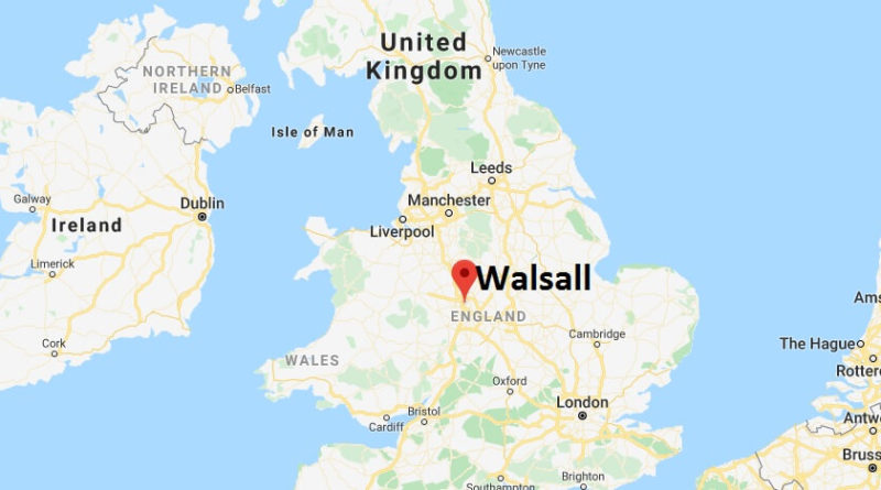 Where is Walsall Located? What Country is Walsall in? Walsall Map