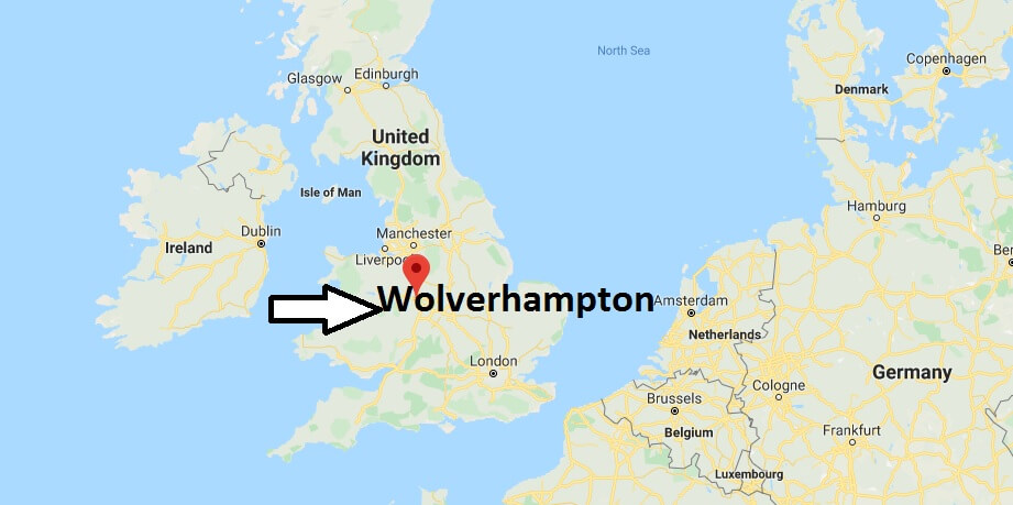 Where is Wolverhampton Located? What Country is Wolverhampton in? Wolverhampton Map