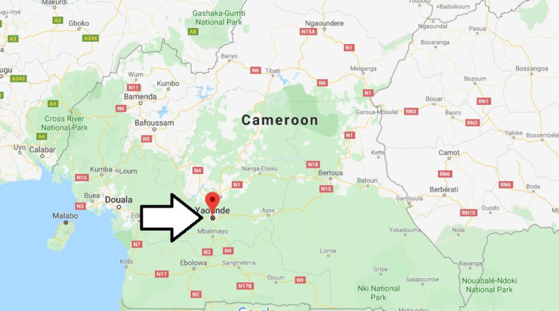 Where is Yaounde Located? What Country is Yaounde in? Yaounde Map