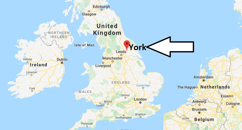 Where is York Located? What Country is York in? York Map