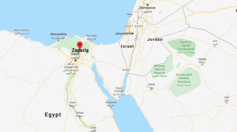 Where is Zagazig Located? What Country is Zagazig in? Zagazig Map