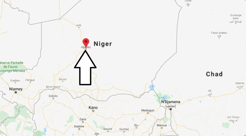 Where is Agadez Located? What Country is Agadez in? Agadez Map