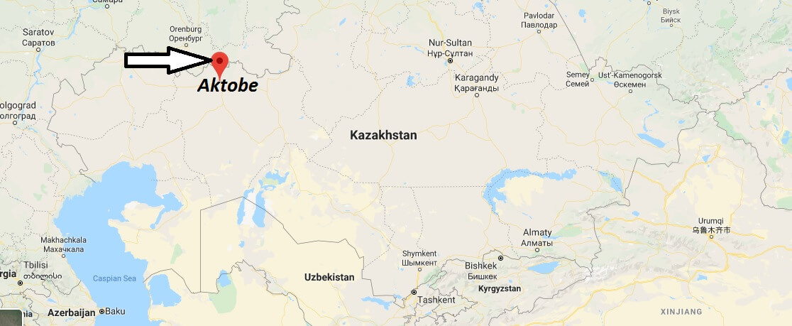 Where is Aktobe Located? What Country is Aktobe in? Aktobe Map