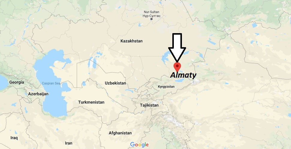 Where is Almaty Located? What Country is Almaty in? Almaty Map