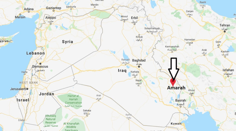Where is Amarah Located? What Country is Amarah in? Amarah Map