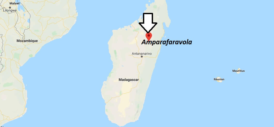 Where is Amparafaravola Located? What Country is Amparafaravola in? Amparafaravola Map