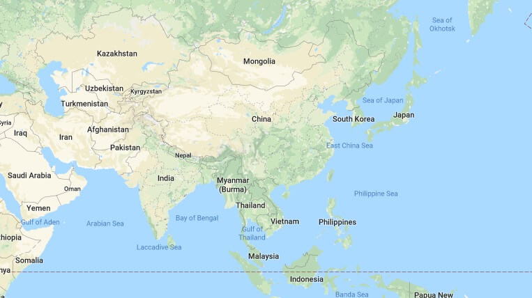 Where is Asia Located? What Continent is Asia in? Asia Map