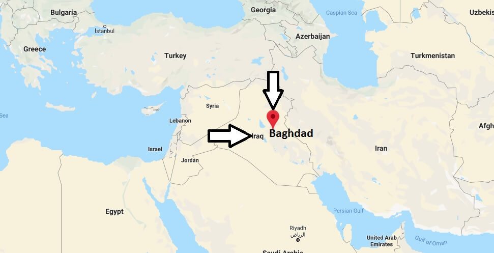 Where is Baghdad Located? What Country is Baghdad in? Baghdad Map
