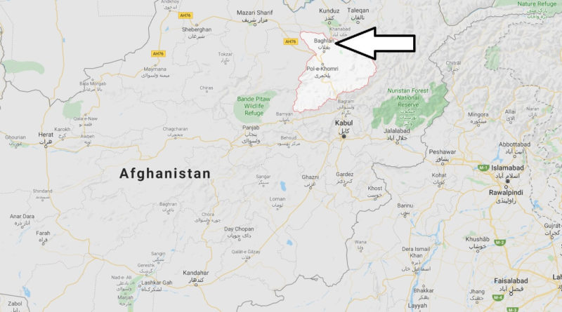 Where is Baghlan Located? What Country is Baghlan in? Baghlan Map
