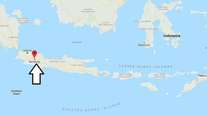 Where is Bandung Located? What Country is Bandung in? Bandung Map