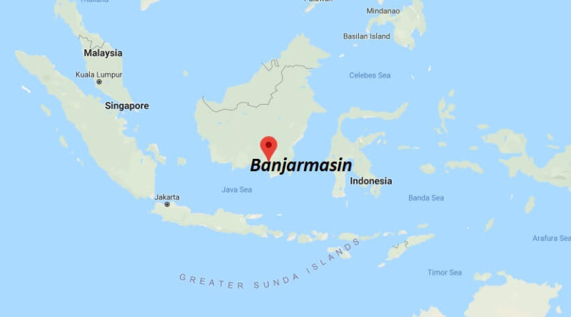 Where is Banjarmasin Located? What Country is Banjarmasin in? Banjarmasin Map