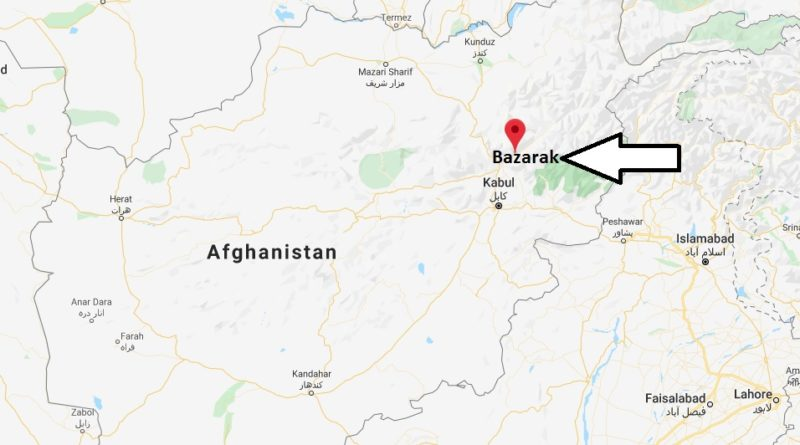 Where is Bazarak Located? What Country is Bazarak in? Bazarak Map