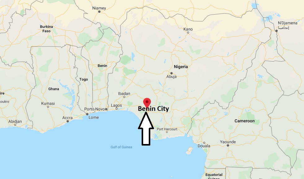 Where is Benin City Located? What Country is Benin City in? Benin City Map