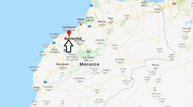 Where is Berrechid Located? What Country is Berrechid in? Berrechid Map