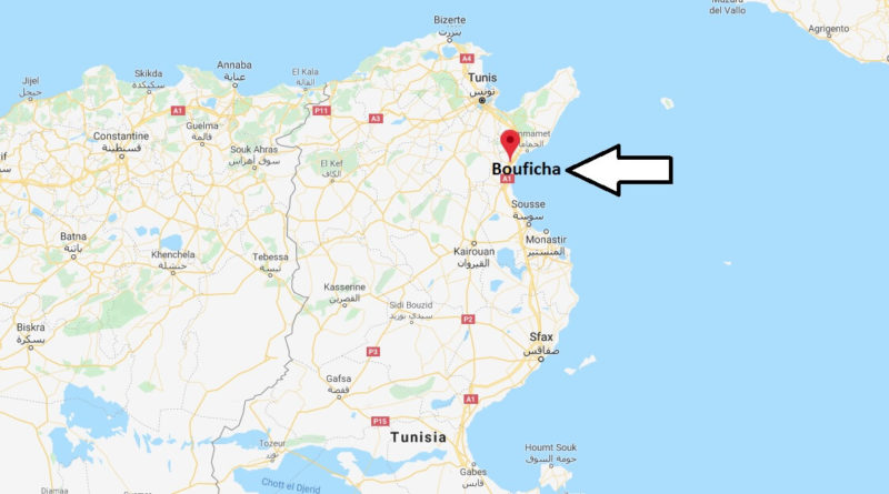 Where is Bouficha Located? What Country is Bouficha in? Bouficha Map
