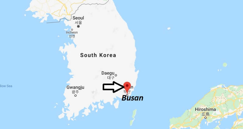 Where is Busan Located? What Country is Busan in? Busan Map