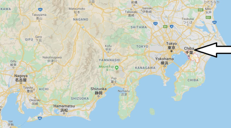 Where is Chiba Located? What Country is Chiba in? Chiba Map