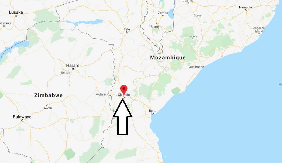 Where is Chimoio Located? What Country is Chimoio in? Chimoio Map